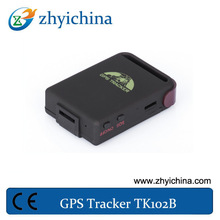 2014 the newest baby tracker/gprs/gps tracker tk102b alerting in case of breaching the predefined district