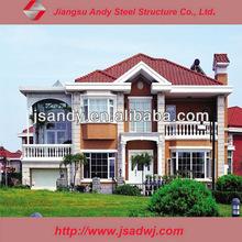 simple steel structure villa house plans