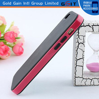 New style TPU and PC back cover case for iphone 5c