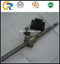 china screw manufacturer c7 grade ball screw DFU4008