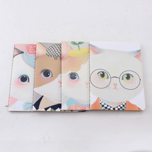 LANGUO composition note book/exercise book with cute katy cat design model :LGKD-2869
