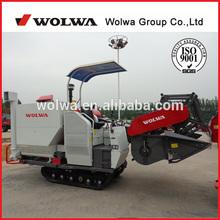 W4SD-2.0 rice combine harvester paddy rice harvester rice threshing machine