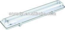 fluorescent tube light fixtures T8 wall washer 2x18w waterproof fixture