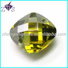 Checker wholesale cubic zirconia aquamarine square beaded jewelry