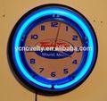 tonka giocattoli logo blu logo neon orologio da parete