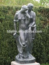 Bronze Nude Lovers Sculpture