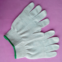 disposable latex glove/ cotton knitted safety working gloves