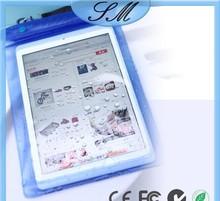 100% waterproof bag ABS+PVC material bag for Apple iPad