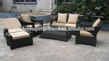 rattan garden sofas outdoor furniture with chaise lounge, single sofa,double sofa