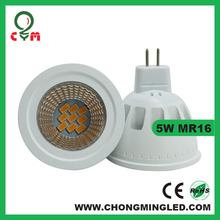 Hot sale 5W MR16 spotlight high lumen 580-630lm IES testing report