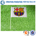 soccer club hand flag ,20*30cm flags fabric suppliers,gift shop suppliers