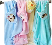 promotion kids beach hooded towel
