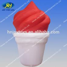 custom inflatable frozen yogurt, frozen yogurt model for advertising, inflatable frozen yogurt model