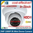 in big stock dahua cheap hot sale HDCVI CCTV Analog HD camera HDCVI HAC-HDW2200S 2Megapixel Water-proof IR HDCVI Mini Dome Camer