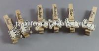 wooden peg art crafts wooden clip triangle paper clip