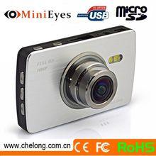 2.7inch Touchscreen 170deg angle GPS SOS G-sensor 4X zoom 720p driver recorder hd car dvr camera