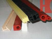 silicone, EPDM, CR,NBR, TPE customerized glass window rubber seal strip
