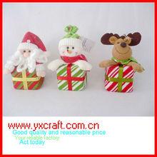 Christmas decoration ZY10S240-1-2-3 5'' felt christmas hanging