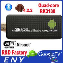 sale ! mk809 iii rk3188 quad core mk809iii android 4.2mini pc android
