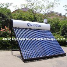 2014 thermosiphone vacuum tube solar water heater system; low pressurized sola water heater systems