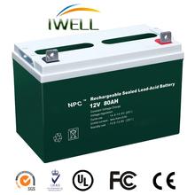 Maintenance Free Car Battery 12v Vrla 12v Telecom Battery