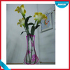 OEM design and fashion foldable plastic vases for flowers