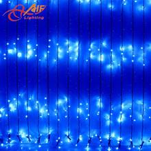 led curtain lights fiber optic waterfall light curtain