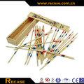 brinquedo de madeira pick up sticks retro tradicional jogo de natal lotação de enchimento