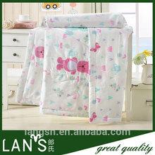 modern colorful 100% cotton summer duvet for child
