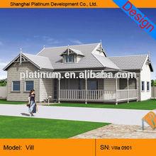 small modular house standard modern prefab villa for living