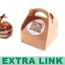 Luxurious Custom Elegant Decorative cupcake packaging