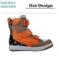 Fabrication 2014 dernières hot- vente de mode haut top chaussures espagnol pour les enfants