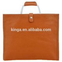 Hot selling OL women/men leather briefcase/shoulder bags H0091
