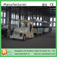 free game amusement ride High Quality tourist road train