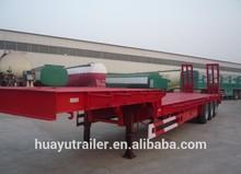 50T heavy duty/ payload low bed semi trailer