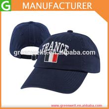 Soccer France Baseball Hat Adjustable Player Men's Gear Hat Dark Blue