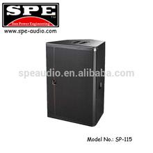 SPE AUDIO design box speaker sound system SP-115 promotion speaker 15 inch speaker horn