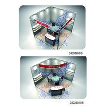 design 3m*6m aluminium exhibition booth for fair