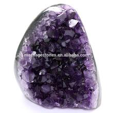 Decoração geodos de ametista matérias cavernas de cristal conjunto natural para venda / naturais ofícios de cristal de quartzo fabricante