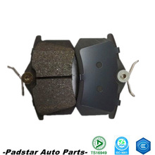 Spare parts cheap price peugeot 504 parts disc brake pad for the smart fortwo parts