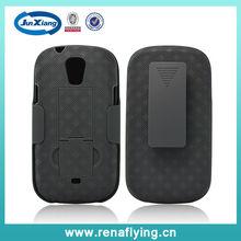 Weave pattern holster combo case for samsung i415