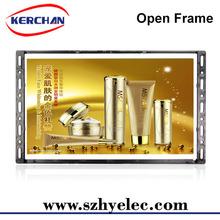 10 pulgadas marco abierto LCD publicidad del jugador / foto inmediata de la máquina
