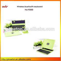 Good quality for ipad wireless Bluetooth keyboard 360 degrees rotation bracket