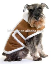 The most newest 2014 popular pet lamb wool winter coat/ polyester sherpa fleece dog coat