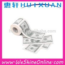 Money Toilet Roll USD $100 Dollar Bill Toilet Paper