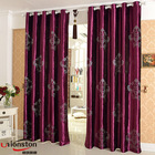 High Quality Glass Fancy Design bedroom window curtains