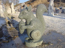 Natural Animal Statues Squirrel
