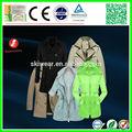 2014 moda casaco de vento