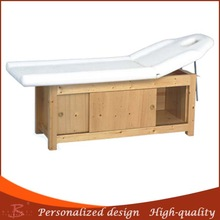 hot sell low price brand name wooden beauty bed salon equipment facial massage bed spa beauty bed