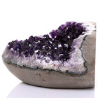AMETHYST Quartz Crystal Cluster, Specimen, Beautiful Points, Geode